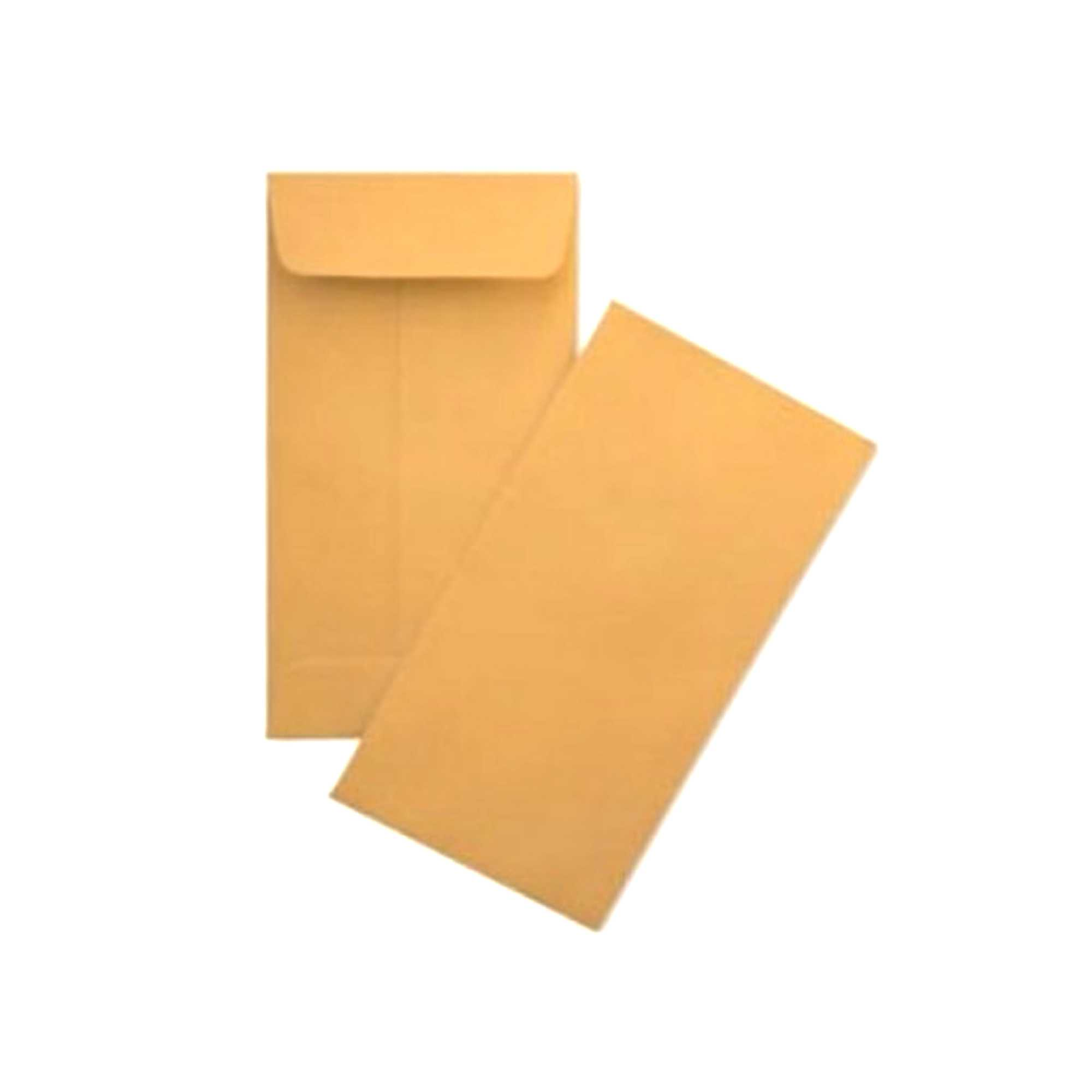 Brown Letter Envelope 24 pcs