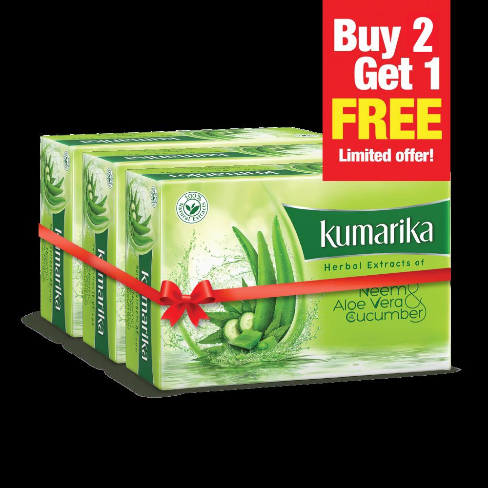 Kumarika Soap (Buy 2 Get 1 Free) 100 gm